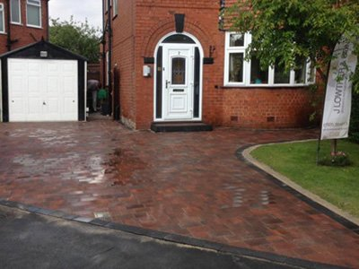 Block Paved Driveway | Jlowther & Sons