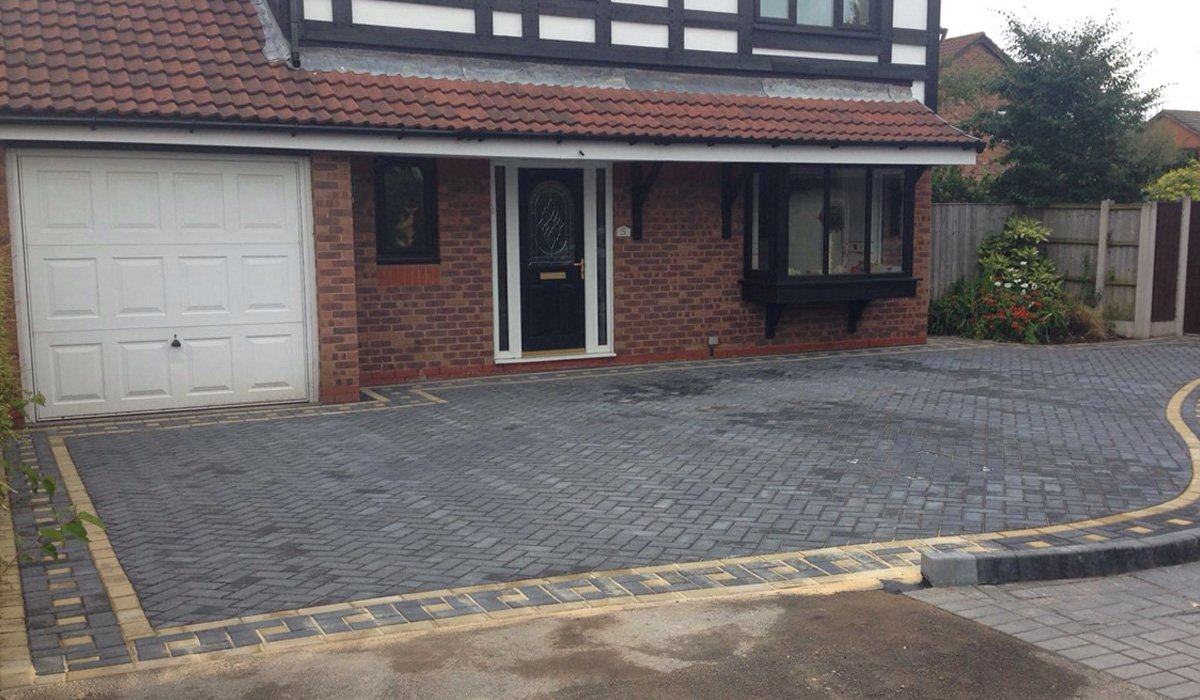 new driveway by j lowther and sons