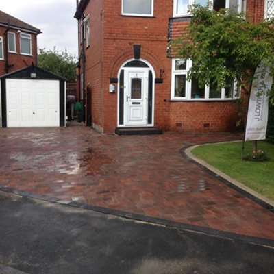 Block Paving Driveways in Warrington