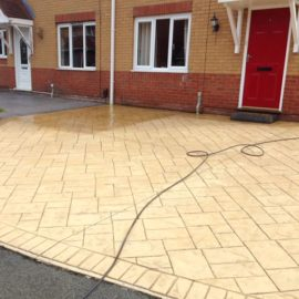Patio or Tarmac